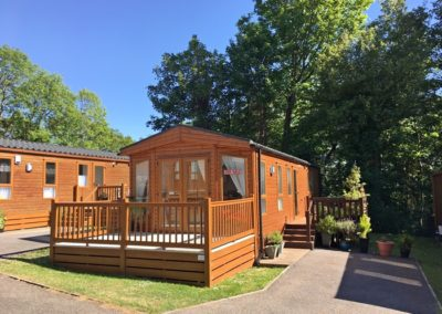 PEMBERTON MARLOW WOOD CLAD LODGE 35 X 12
