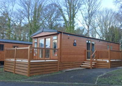 NEW VICTORY WESTPARK Wood clad Lodge 38 X 12